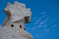 Casa Mila, Barcelona, Spain Royalty Free Stock Photo