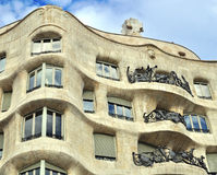 Casa Mila, Barcelona Royalty Free Stock Photo