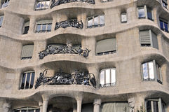 Casa Mila, Barcelona Stock Photography