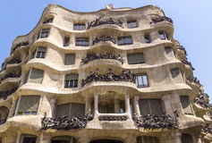 Casa Mila Stock Photo