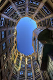 Casa Mila courtyard Royalty Free Stock Images