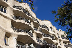 Casa Mila Royalty Free Stock Photography