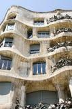 Casa Mila facade details Stock Photography