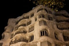 Casa Mila Royalty Free Stock Image