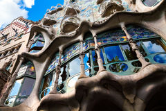 Casa Mila Gaudi House Stock Photos