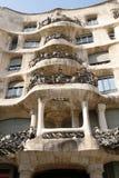 Casa Mila - Hotel Gaudi in Barcelona Stock Image