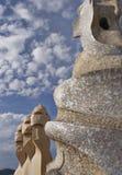 Casa Mila, La Pedrera Royalty Free Stock Image