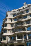 Casa Mila, La Pedrera, by Antoni Gaudi, Barcelona Royalty Free Stock Photos