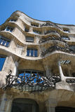 Casa Mila, La Pedrera, by Antoni Gaudi, Barcelona Stock Photography