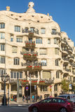 Casa Mila (La Pedrera) is apartment house, built in years 1906-1910 architect Antoni Gaud� for the Mila family Stock Photo