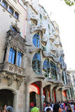 Casa Mila or La Pedrera, Barcelona Royalty Free Stock Photography