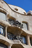 Casa Mila - La Pedrera (Barcelona, Spain) Royalty Free Stock Photography