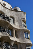 Casa Mila - La Pedrera (Barcelona, Spain) Stock Images