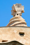 Casa Mila or La Pedrera in Barcelona, Spain Stock Photos