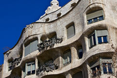 Casa Mila - La Pedrera (Barcelona, Spain) - 2 Stock Photos