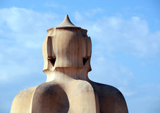 Casa Mila Stock Photography