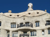 Casa Mila, La Pedrera Barcelona Stock Photo