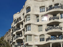 Casa Mila, La Pedrera Barcelona Royalty Free Stock Photography