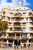 Casa Mila (La Pedrera)  in Barcelona, Spain Stock Photography