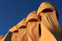 Casa Mila (La Pedrera) Royalty Free Stock Photos