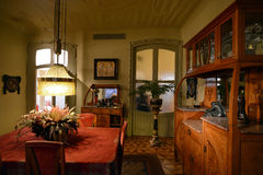 Casa Mila or La Pedrera in Barcelona, Spain. Historical Casa Mila in Barcelona, Spain royalty free stock image