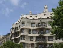 Casa Mila in Spain Stock Photo