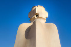 Casa Mila statue Royalty Free Stock Photo