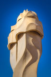 Casa Mila statue Stock Photo