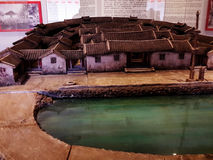 Casa miniatura cinese Immagini Stock
