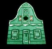 Casa miniatura di legno immagini stock libere da diritti