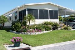 Casa mobile in tropici Immagine Stock