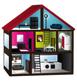 casa modelo 3d libre illustration