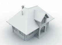 Casa modelo de la configuración Ilustración del Vector