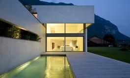 Casa moderna Fotografia Stock