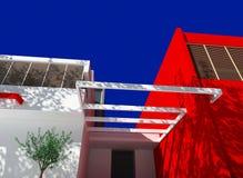 Casa moderna Imagens de Stock Royalty Free