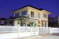 Casa moderna Foto de Stock