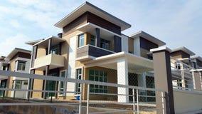 Casa moderna Fotos de Stock