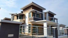 Casa moderna Imagem de Stock