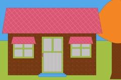 casa moderna Royalty Illustrazione gratis