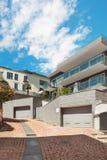 Casa moderna, ao ar livre foto de stock royalty free