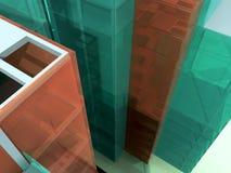 Casa moderna da arquitetura Ilustração Royalty Free