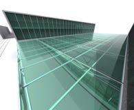 Casa moderna da arquitetura Ilustração Stock