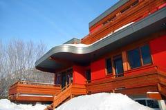 Casa moderna de gama alta Imagens de Stock Royalty Free