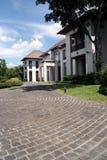 Casa moderna del estilo oriental Imágenes de archivo libres de regalías