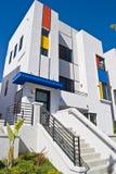 Casa moderna della California Fotografia Stock