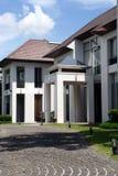 Casa moderna do estilo oriental Imagem de Stock