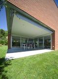 Casa moderna do tijolo Fotos de Stock