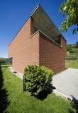 casa moderna do tijolo Fotografia de Stock