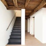 Casa moderna, escadaria Foto de Stock