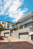 Casa moderna, esterna Fotografia Stock Libera da Diritti